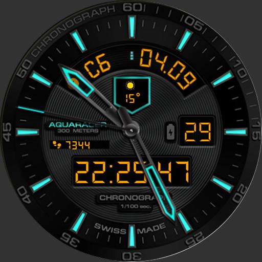 Aquaracer Watch Face